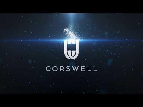 Corswell elastisches Schnellschnürsystem  Sport-Schnürsenkel