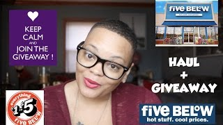 This video is about my most recent trip to Five Below. Five Below is a store that sell all items $5.00 or less. You can purchase everything from clothing, toys, fitness, home decor and electronics.  All items featured in this haul were purchased with my own money.It is my pleasure to share with all of you the gift of giving this holiday season. Thank you so much for watching.