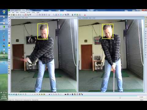 Live Golf Lesson Good Load on Takeaway for Good Shoulder Turn