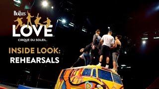 Video The Beatles LOVE by Cirque du Soleil | Open Rehearsals [CLOSED] MP3, 3GP, MP4, WEBM, AVI, FLV Juni 2018