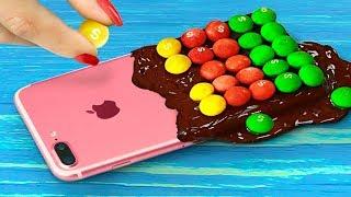 Video 7 DIY Edible Phone Cases / Edible Pranks! MP3, 3GP, MP4, WEBM, AVI, FLV Januari 2019