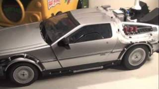 Back To The Future Part 2 Delorean Time Machine Diamond Select Toys 1/15 Scale Movie Toy Review