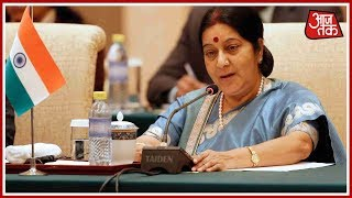 Doklam Issue Can Be Resolved Through Talks, Says Sushma Swaraj