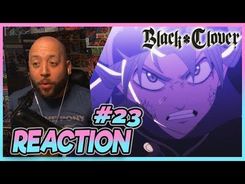 "Black Clover Episode 23 REACTION ""The Crimson Lion King"""