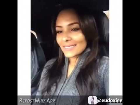 "Ludacris' Girl Friend Eudoxiee Sings Keche's Hit Song ""Diabetes"""