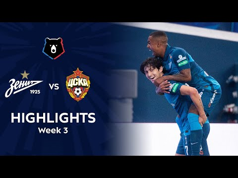 Highlights Zenit vs CSKA (2-1) | RPL 2020/21