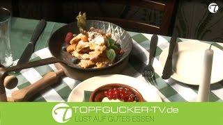 Original Kaiserschmarrn mit Rosinen | Dessert Rezept