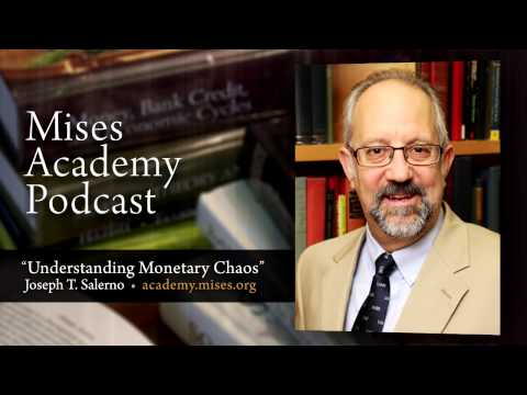 joseph - Enroll now: http://academy.mises.org/courses/soundmoney/ Interviewed by host Tom Woods, Joe Salerno talks about the Fed, the Great Depression, currency wars,...