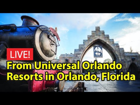 Live From Universal Orlando Resorts / CityWalk - Islands of Adventure - Universal Studios Orlando