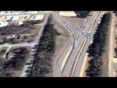 What's happening at the Highway 6 interchange in Oxford?