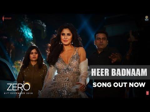 Download ZERO: Heer Badnaam | Shah Rukh Khan, Katrina Kaif, Anushka Sharma | Tanishk Bagchi | T-SERIES HD Mp4 3GP Video and MP3