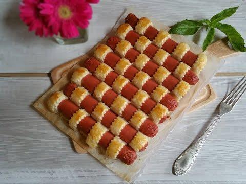 ricetta finger food: intreccio rustico di wurstel