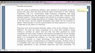 Software Engineering I - Weekend Class 1, Part 3