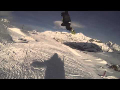 Kevin Backstrom & Tor Lundstrom in the Val d'Isère Snowpark #BEYOND MEDALS