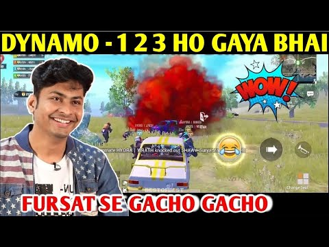 DYNAMO - 1 2 3 HO GAYA BHAI | PUBG MOBILE