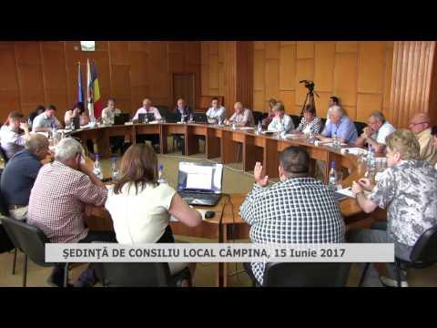 Ședință Consiliul Local Câmpina 15 iunie 2017