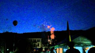 Staatsbad Bruckenau Germany  city photos : Staatsbad Bad Brückenau (Parkfest 2015 - Feuerwerk)