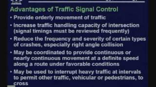 Lecture - 7 Intersection Control And Signalization