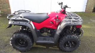 5. Linhai M150 Review - A good utility quad bike ideal for small holdings and large gardens
