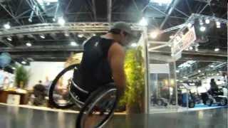 """Fun on Chairs @ Rehacare 2012 /w Aaron """"Wheelz"""" Fotheringham and Dergin """"Stix"""" Tokmak"""