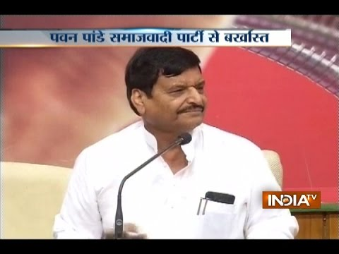 UP Minister Pawan Pandey expelled from Samajwadi Party for six years for indiscipline