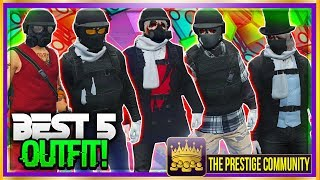 "BEST 5 RNG/TRYHARD OUTFITS IN GTA 5 ONLINE 1.40! ''Top 5 RNG Outfits'' (GTA 5 Clothing Glitches 1.40) (Xbox One, Ps4, PC) ♛ DIRECTOR - HyPe HDx (Help Him Get 25K) ► http://bit.ly/SubHyPeHDx ◄►ROAD TO 150K! Join the #PrestigeFam and Subscribe! ✔🔔👆Turn on Post Notifications👆🔔✔ http://bit.ly/SubToPmHD► The Prestige Community WEBSITE - Submit videos, Cheap GFX & More! http://prestigecommunity.weebly.com/ ▬▬▬▬▬▬▬▬▬ஜ۩♛ DOPE GFX, INSTANT GTA CASH & RANK,  COD RECOVERIES AND MORE!  ♛۩ஜ▬▬▬▬▬▬▬▬▬★ For Cheap, Reliable GTA V Accounts and INSTANT GTA Cash + Rank: ​https://goo.gl/PPD27p ★ For Cheap Games, Call of Duty Modded Accounts and Recoveries, In-game items, gaming accessories and more! https://goo.gl/rvjMQK Use code - 'PMHD' for 5% OFF!★ Need Intros or GFX? Buy Cheap Professional Designs from PrestigeStudios! (My team) http://prestigecommunity.weebly.com/gfx-shop.html▬▬▬▬▬▬▬▬▬ஜ۩♛ Join The Prestige Community ♛۩ஜ▬▬▬▬▬▬▬▬▬▼ Want to be Featured on PmHD? ▼Subscribe and Submit your Glitches, Tips and Tricks videos to our website! http://prestigecommunity.weebly.com/submit-your-videos--contact.htmlTwitter: https://twitter.com/PrestigeMontageFB: http://bit.ly/PmHDFBSubscribe: https://www.youtube.com/c/PmHD?sub_confirmation=1♛ Subscribe to our Prestige Channels ♛PmHD (100K+ GTA): https://www.youtube.com/c/PmHD?sub_confirmation=1PrestigeGaming (15K+ Gaming): https://bitly.com/SubPrestigeGamingPrestigeMusick (8K Music): http://www.youtube.com/PrestigeMusick?sub_confirmation=1  PrestigeStudios (GFX/INTROS): http://bit.ly/SubPrestigeStudios PrestigeComedy (22K Entertainment): http://bit.ly/SubPrestigeComedy▬▬▬▬▬▬▬▬▬ஜ۩♛ INTRO SONG ♛۩ஜ▬▬▬▬▬▬▬▬▬My Music channel: https://www.youtube.com/user/PrestigeMusick  Intro song - https://www.youtube.com/watch?v=ZeLeAgQ_DtoOutro Song - https://www.youtube.com/watch?v=BbZP3zCLBrM▬▬▬▬▬▬▬▬▬ஜ۩♛ 10 Popular GTA 5 Online GunRunning DLC Glitches Not to Miss! ♛۩ஜ▬▬▬▬▬▬▬▬▬► GTA 5 Online TOP 10 GLITCHES 1.40! (NEW) 10 BEST WORKING GLITCHES GTA 5 1.40 (Top 10 Glitches 1.40) http://youtu.be/NeCoPZe9SKk► GTA 5 Online TOP 10 CLOTHING GLITCHES 1.40! NEW BEST 10 GUNRUNNING Outfit Glitches! Top 10 Glitches 1.40 http://youtu.be/w-VCsr8F7gM► GTA 5 Online TOP 5 GLITCHES 1.40! (NEW) FREE $30,000,000 GLITCH, 100% INVISIBLE BODY, RARE CLOTHING! http://youtu.be/-g17pseXp7E ► GTA 5 Online TOP 5 CLOTHING GLITCHES 1.40! *NEW* DIRECTOR MODE GLITCH 1.40, RARE JOGGERS, INVISIBLE ARMS! http://youtu.be/7tBluIaowgk► FINALLY! GTA 5 Online ''XBOX ONE'' & PS4 DIRECTOR MODE GLITCH 1.40! SOLO GTA 5 ''Money Glitch 1.40'' http://youtu.be/r-YbkDu1r-k► GTA 5 CHECKERED OUTFIT GLITCH 1.40! (NEW) SOLO 'CHECKERBOARD OUTFIT' TUTORIAL GTA 5 Online 1.40 https://www.youtube.com/watch?v=63XipThzvAY► OMG! NEW $10,000,000 /HR ''SOLO'' MONEY GLITCH! GTA 5 Online 1.40 *SOLO* ''UNLIMITED MONEY GLITCH'' http://youtu.be/8Ev84bLKHYE► GTA 5 RP GLITCH 1.40! *SOLO* ''UNLIMITED RP GLITCH 1.40'' Level Up FAST AND EASY 1.40 (PS4/Xbox /PC) http://youtu.be/edYOw7g-XAs► GTA 5 GUNRUNNING GLITCHES 1.40! *NEW* MILITARY ''MODDED OUTFIT GLITCH 1.40'' (Clothing Glitches 1.40) http://youtu.be/dtMbuEDpvP8► GTA 5 Online TOP 3 MODDED OUTFITS 1.40! GUNRUNNING Modded Outfit Glitches Using Clothing Glitches! https://www.youtube.com/watch?v=jjUQeyxYwp0▬▬▬▬▬▬▬▬▬ஜ۩♛ A Personal Note From Xav ♛۩ஜ▬▬▬▬▬▬▬▬▬ Hey #PrestigeFam! Thanks for watching guys! Help us reach 150,000 Subscribers by rating the videos and leaving feedback! Subscribe if you're new here for the best and latest Gaming Glitches, tips and tricks! Stay tuned, Stay Prestige ✌️✌️#PrestigeFam #PrestigeCommunity-Xav, PmHD♛ Fair Use Disclaimer:♛ COPYRIGHT DISCLAIMER UNDER SECTION 107 OF THE COPYRIGHT ACT 1976 - Copyright Disclaimer Under Section 107 of the Copyright Act 1976, allowance is made for ""fair use"" for purposes such as criticism, comment, news reporting, teaching, scholarship, and research. Fair use is a use permitted by copyright statute that might otherwise be infringing. Non-profit, educational or personal use tips the balance in favor of fair use"