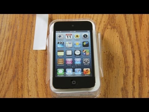 16GB - SUBSCRIBE ▻ http://bit.ly/FastElectronicAndLoud This is the Apple iPod Touch 4th Generation 16GB in Black. This will be used in the Dodge Charger R/T as an a...
