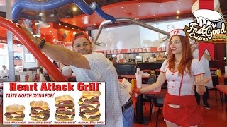 Video BURGER DE 7000 CALORIES - La fessée au Heart Attack Grill ? MP3, 3GP, MP4, WEBM, AVI, FLV November 2017