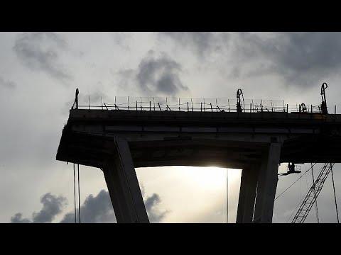 Γένοβα: Ξεκίνησε η κατεδάφιση της γέφυρας Μοράντι