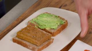 Zoe Bingley-Pullin's Tofu Sandwich (Good Chef Bad Chef)