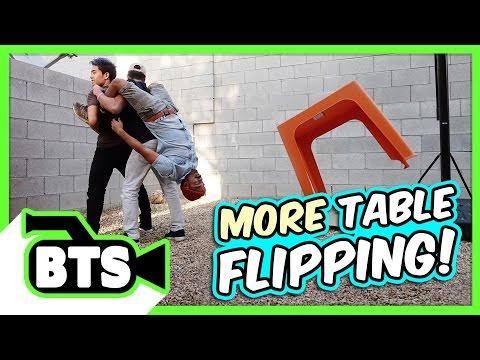 Table Flip Fails! (BTS) (видео)
