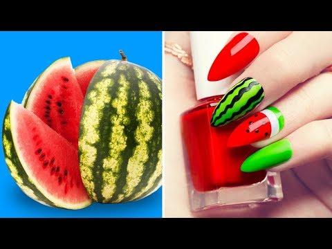 Diseños de uñas - 32 IDEAS BRILLANTES PARA MANICURA