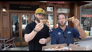 Barstool Pizza Review - Nicks Pizza With Special Guest Bryce Harper Bonus Hair Flip