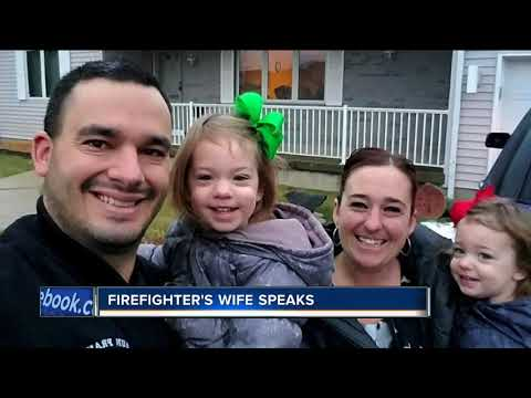 Processon For Fallen Firefighter