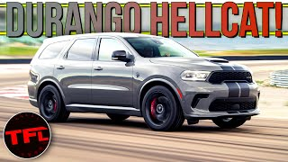 Breaking News: The 2021 Dodge Durango Hellcat Will Catapult Your Family From 0-60 In 3.5 Seconds! by The Fast Lane Car