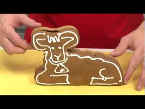 Видео Формочки для печенья из металла Tescoma Форма для выпечки Пасхальная овечка DELICIA Tescoma 623342