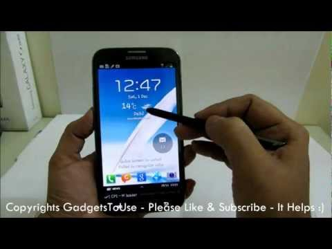 Galaxy Note 2 Lock Screen Tips, Tricks and Hidden Features Explained