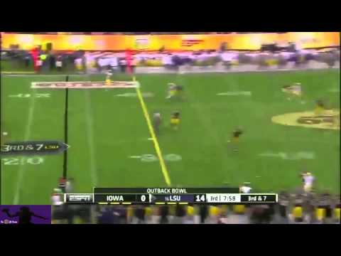 Anthony Jennings vs Iowa (Outback Bowl) 2013 video.
