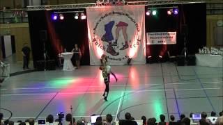 Janique Steiner & Jascha Steiner - Nordbayerische Meisterschaft 2014