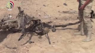 القوات المسلحة تداهم بؤر ارهابية شديدة الخطورة