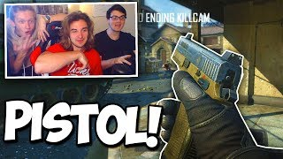 RED HOUSE HITS PISTOL TRICKSHOTS! (WHO CAN HIT THE BEST SHOT?) - ft. Randumb, Formula, Nicks