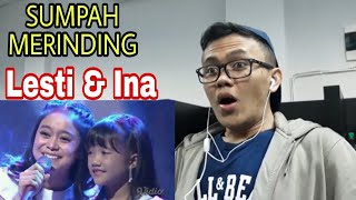 Video MERINDING DUET LESTI DAN INA - SIKECIL | REACTION MP3, 3GP, MP4, WEBM, AVI, FLV Januari 2019