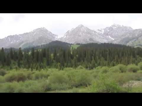 4x4. Travel in Kazakhstan. Mountains. Nature. Казахстан, природа, горы. Путешествия. (видео)