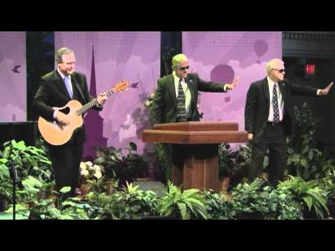 John C. Morgan, George W. Bush Impersonator's ministry performance