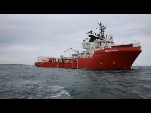 356 μετανάστες εγκλωβισμένοι στο Ocean Viking