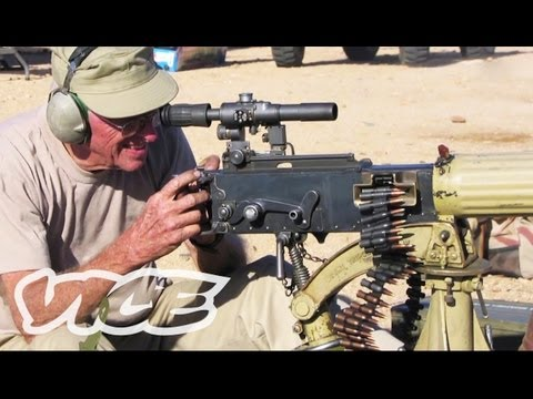 guns - We went to Arizona to shoot some absolutely ridiculous and unnecessarily huge guns. Thomas gets a lesson in heavy artillery at the Big Sandy Shoot, where gun...