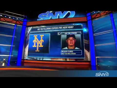 Video: SNY's Mets Hot Stove checks in with Wilmer Flores