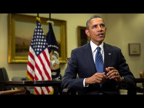 address - In his weekly address, President Obama makes the case for limited and targeted military action to hold the Assad regime accountable for its violation of inte...