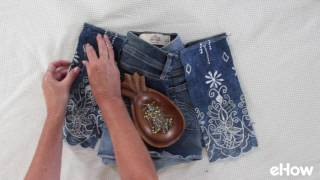 Don't fit into those old pair of shorts or pants? Don't toss them when you can make them fit with this easy DIY! http://www.ehow.com/how_6344581_make-pants-bigger-size.html
