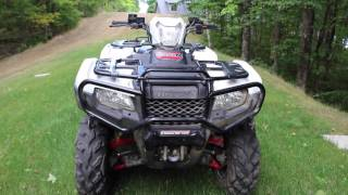 9. 2015 HONDA FOREMAN RUBICON 500  REVIEW - UPDATED!!!